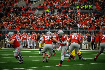 Ohio State Quarterback J.T. Barrett Photo Credit MGoBlog via Flickr - https://flic.kr/p/qco6v3