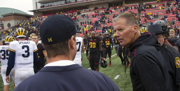 The University of Maryland has fired Head Coach Randy Edsall after leading the Terps for the past 4 years. Photo Courtesy of MGoBlog on Flickr.