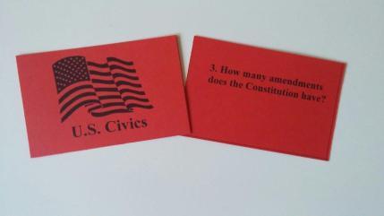 Civics Cards