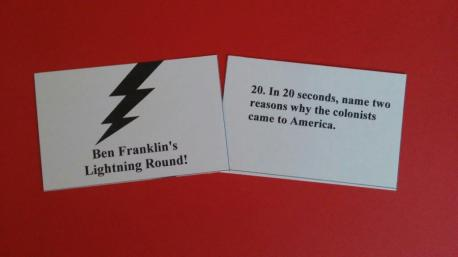 Lightning Round Cards