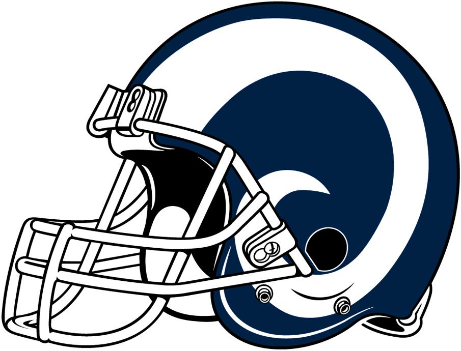 3017losangelesrams Helmet 2017 The Quill